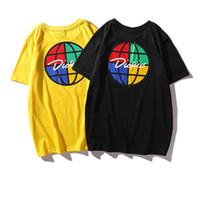 nuevas camisetas impresas al por mayor-Camisetas de diseñador de mujer 2019 Recién llegado para mujer Camisetas de moda con estampados de patrón Hombres Mujeres Pareja Tops Camiseta de lujo de verano