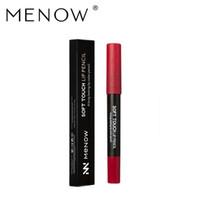 Wholesale menow lipstick brand for sale - Group buy Menow Brand New Colors Sex Matte Lipstick Makeup Waterproof Long Lasting Cup non stick lipstick Pencil Cosmetics LS02