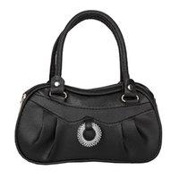 motorcycle style women leather handbags 도매-여성 스타일 세련된 지퍼 핸드백 아름다운 크로스 바디 백 레이디 PU 가죽 유럽 스타일의 고급 오토바이 가방