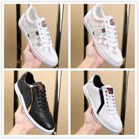 Wholesale white korean sneakers men resale online - 2019 new style white sneakers men men breathable leisure shoes Korean version popular shoes flat bottomed fashion Men sneakers