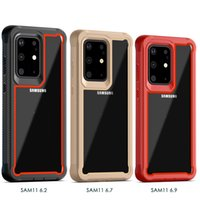 Wholesale huawei g8 case online – custom Hot Rugged Defender Cover Phone Robot Case for Moto G Stylo Moto G8 Plus G8 PLAY One Macro Clear Acrylic Protector