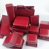 ingrosso scatola anello dell'automobile-Scatole per gioielli set di tre pezzi Scatole per imballaggio per auto Anello per collana Anello per scatole di gioielli Scatola per gioielli per casa
