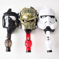 kabarcıklar boruları toptan satış-Silikon Gaz Predator Akrilik pipolar Su Borusu Bongs Oil Rig Sigara Su Boruları Nargile Bubblers Tütün Tüp Maske