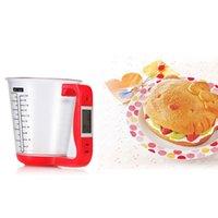 balanças eletrônicas venda por atacado-1 kg Digital LCD Eletrônico Copo de Medição Escala Jug Scale Cozinha Eletrônica Baking Scale Ferramentas de Cozimento De Leite Em Pó