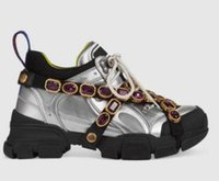 ingrosso stivali donne diamanti-New Designer scarpe casual sneaker Flashtrek con diamante removibile da donna uomo trainer Alpinismo Scarpe da uomo Outdoor scarpe da trekking C3