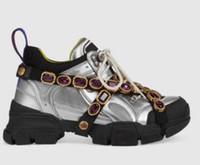 botas mulheres diamante venda por atacado-Novo Designer de sapatos casuais sapatilha Flashtrek com diamante removível mulheres homens trainer Mountain Climbing Shoes Mens botas de Caminhada Ao Ar Livre C3
