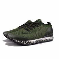 Wholesale full leather shoes for men online - 2019 Granule Shoes Full Palm Cushion Cushioning Running Shoes Athletics Sneakers For Women Men Sports Shoes