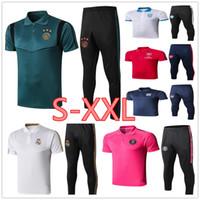 Wholesale club soccer kits resale online - Real Madrid Ajax polo shirts men soccer jerseys tracksuit football club POLO shirt kit S XXL