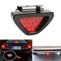 pára atv led venda por atacado-Red 12 LED Luz De Freio Traseiro Cauda Parada Iluminação de Segurança Universal Motocicleta ATV SUV Carro Auto Warnning Lâmpada 12 V