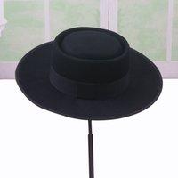 Cappello Fedora Hat da uomo Fashion New Fashion Pork Pie Cappelli per  Classic Church Cappello in feltro di lana Autunno Inverno Cappello da uomo  Fedora ... c1193a5b96e7