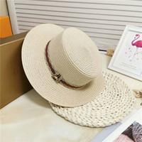 широкополая шляпа бесплатная доставка оптовых-16 Цветов Женщин Шляпа с Широкими Полями Floppy Дерби Большой Пляж Sunhat Соломенная Бесплатная Доставка