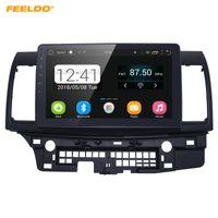 voitures anciennes achat en gros de-Lecteur de média FEELDO 10 pouces HD Android 6.0 quadruple Core Media Player avec GPS Navi Radio pour Mitsubishi Lancer EX (2007-présent CY2A-CZ4A) # 5269