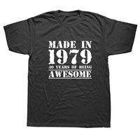 geschenke machen für männer großhandel-Brand New Summer Men Made in 1979 40 Jahre T-Shirt Geschenke # 392575 für Männer zum 40. Geburtstag von Awesome