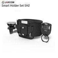 держатели для мобильных телефонов для велосипедов оптовых-JAKCOM SH2 Smart Holder Set Горячие Продажи в Сотовый Телефон Держатели Держатели, как смарт-телевизор доставки велосипед смартфон 4 г
