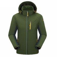 тепловая муфта оптовых-Мужчины Женщины водостойкий отдых туризм куртка пара дышащий рыболовные куртки тепловой отдых на природе поход пальто AA60658