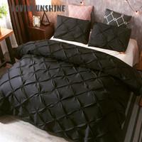 Wholesale white comforter sets for sale - Group buy LOVINSUNSHINE Bedding Sets King Size Comforter Set Queen Duvet Cover AB