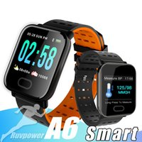 Wholesale A6 Wristband Smart Watch Touch Screen Resistant Smartwatch Smart Bracelet Monitor Sport Running With Retail Package