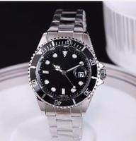 luxo relógio de ponta venda por atacado-atmosfera clássica boa aparência negócios Suíça explosões anuais high-end relógios de luxo de moda mostrador preto relógio dos homens do calendário dos homens
