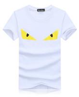 t-shirt individuell gestalten großhandel-Die Kleidungs-Designer-T-Shirt der Männer Frauen Druckmuster Sommer-T-Shirt 2 färbt freies Verschiffen-jugendliche Kleidungs-Produktkundenbezogenheit