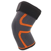 дышащие баскетбольные коленные подушечки оптовых-New Basketball Volleyball Running Fitness Riding Non-Slip Elastic Nylon Sports Breathable Knee Pads Compression Knee Pads Ball