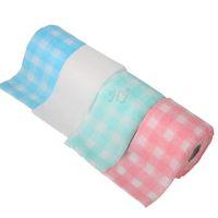 rolos de algodão para toalhas venda por atacado-Novo 18 Metros / Rolo de Beleza Toalha Perfeito Para Nail Art Cleansing Cosméticos Manicure descartável Toalha De Papel De Algodão Rolo Ferramenta Pano