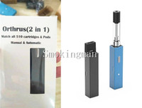 Wholesale mod batteries for e cigs resale online - 100 Original Orthrus Vapes Battery in1 Suitable for disposable Pods Thick Oil dank Cartridges Vape pen Mods Janus e cigs carts Kits