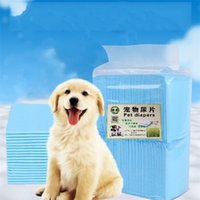 Wholesale diapers for puppies resale online - New Arrival Pets Dog Cat Diapers Thicken Nonwovens Puppy Urinal Pad Comfortable Pets Cleaning Accessories For Outdoors kt E1