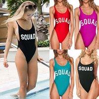 reizvolle frauen badebekleidung ein stücke großhandel-Sommer Bikini Badeanzug Bodysuit 2017 Sexy Frauen Einteilige Badebekleidung Frauen Strampler Womens Jumpsuit Backless Bademode BeachWear