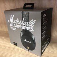 наушники с шумоподавлением оптовых-Marshall Major III 3.0 Беспроводные Bluetooth наушники DJ наушники глубокий бас шумоизоляции bluetooth-гарнитура Hi-Fi наушники для iPhone