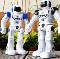 Wholesale interactive smart toy for sale - Group buy Intelligent Robot Remote Control Smart Programmable Robots Walk Slide Dance Music Talk Demostration Interactive Robot Toys