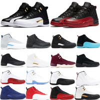 2a027e4e2b4 Wholesale jumpman shoes resale online - Jumpman Basketball XII Shoes  Designer Sports Wings CNY TAXI Playoff