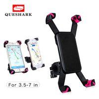 se bikes оптовых-Универсальный держатель для телефона на велосипеде с подставкой для руля для iPhone 8 7 5 SE Кронштейн для телефона на велосипеде для Samsung S8 S7 # 334090