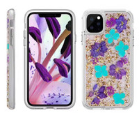 Wholesale bag iphone flower for sale – best For iPhone Plus X XR XS MAX PC Hybrid Made with Real Flowers Slim Protective Design Case With Opp Bag