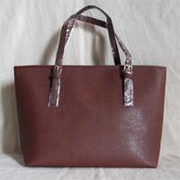tote marken großhandel-Handtasche 2019 New Fashion Women Bag Marke Frauen Lederhandtaschen Frau Große Umhängetaschen Casual Tote Bag