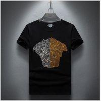 camiseta de verano negro blanco al por mayor-Diseñador T shirts Hombres Mujeres camiseta hip hop camiseta Hip hop Streetwear Carta de Verano Impreso Blanco Negro Tees Tops SI0121