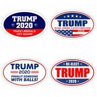 imanes de nevera de moda al por mayor-Trump 2020 Pegatinas Moda Donald Elección presidencial Keep Make America Great Imanes de nevera Etiqueta de la pared Decoración para el hogar TTA1583