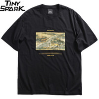 Wholesale ancient chinese painting resale online - 2019 Hip Hop T Shirt Streetwear Ancient Chinese Song Dynasty Painting T Shirt Mens Cotton Short Sleeve Tshirts Summer Tops