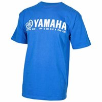 yamaha außenbord großhandel-Für yamaha marine außenborder pro angeln kurzarm t-shirt blau racing motorrad motorrad herren t-shirt t motocross shirt k1