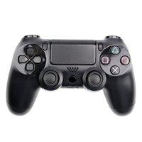 блок управления ps4 оптовых-Bluetooth Беспроводной PS4 контроллер для PS4 вибрации джойстик геймпад PS4 игровой контроллер для Sony Play Station с коробкой упаковки