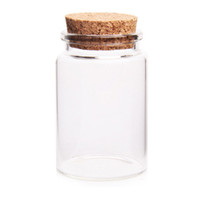 Wholesale jars for spices for sale - Group buy Hot Selling MM ML Empty Glass Bottles Jars with Cork Stoppers for DIY Craft Decorative Container Drop Ship Transparent