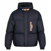 artı boyutu parkas toptan satış-Erkek pamuk ceket gevşek bayanlar pamuk ceket kalın kışlık giyim artı boyutu kış ceket sıcak parkas mavi outwear2019 yeni QQ6
