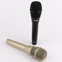 los mejores micrófonos dinámicos al por mayor-Voz en vivo profesional de KSM9 de calidad superior Micrófono con cable dinámico KSM9 Micrófono de karaoke Microfono Supercardioide Podcast Microfono