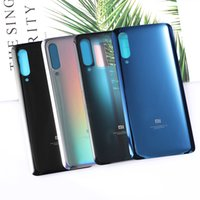 Wholesale mobile phone glass replacement resale online - Xiaomi9 Original Housing For Xiaomi Mi Mi9 Battery Door Glass Back Cover Mobile Phone Replacement