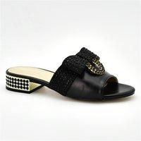 robe sandales bas talons achat en gros de-Chaussures habillées pour femmes à bouts ouverts (1cm - 3cm) Chaussures à talon compensé pour femmes