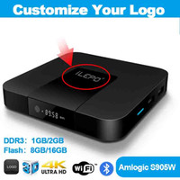 Wholesale tv box android 4k 2gb 8gb for sale - Group buy Free Custom LOGO Android tv box TX3 MINI K S905W smart TV Box for k smart television caja de tv android