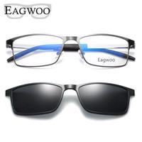 Wholesale spectacle sunglasses for sale - Group buy Magnet Eyeglasses Full Rim Optical Frame Prescription Metal Alloy Spectacle Men Myopia Eye Glasses Multi Use Sunglasses
