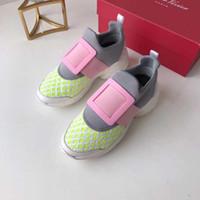 baskets taille princesse achat en gros de-Boucle Carrée Paris Designer Chaussures 2019 Printemps Nouvelle Marque De Luxe Chaussures Mignon Doux Princesse Sneakers Taille 35-40 Modèle QQ122401