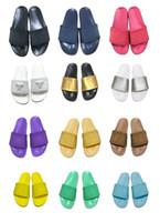 fd94c8f8ca93 Wholesale beach walk slippers online - Best Fashion Classic Europe Brand  Mens Casual Air Beach Slide
