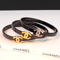 unhas que desvanecem a cor venda por atacado-Chegada Nova 3 cores braceletbangle Natal presentes jóias Moda pulseiras de alta qualidade para presentes mulheres do partido de Preços por Atacado