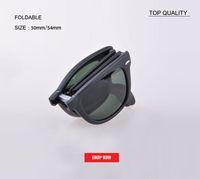 Wholesale boys glasses for sale - Group buy 2019 New vintage square Foldable square Folding Sunglasses Mens Womens Retro Vintage Sun Glasses Outdoor rd4105 Driving designer uv400 gafas